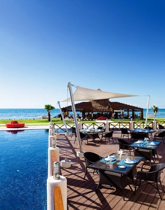 Secrets Silversands Riviera Cancun - Oceana Seafood Restaurant <br/>Image from Leonardo