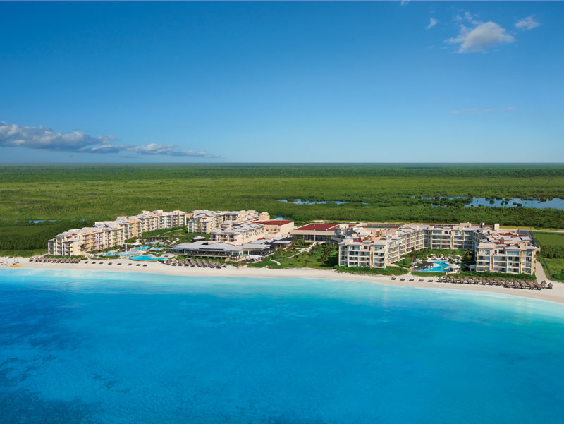 Now Jade Riviera Cancun - Aerial view <br/>Image from Leonardo