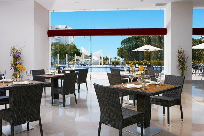Dreams Villamagna Nuevo Vallarta-Restaurant World Cafe<br/>Image from Leonardo
