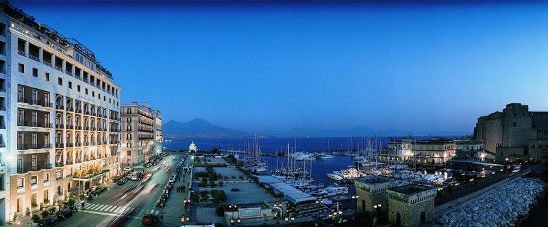 Grand Hotel Vesuvio Naples-Exterior<br/>Image from Leonardo