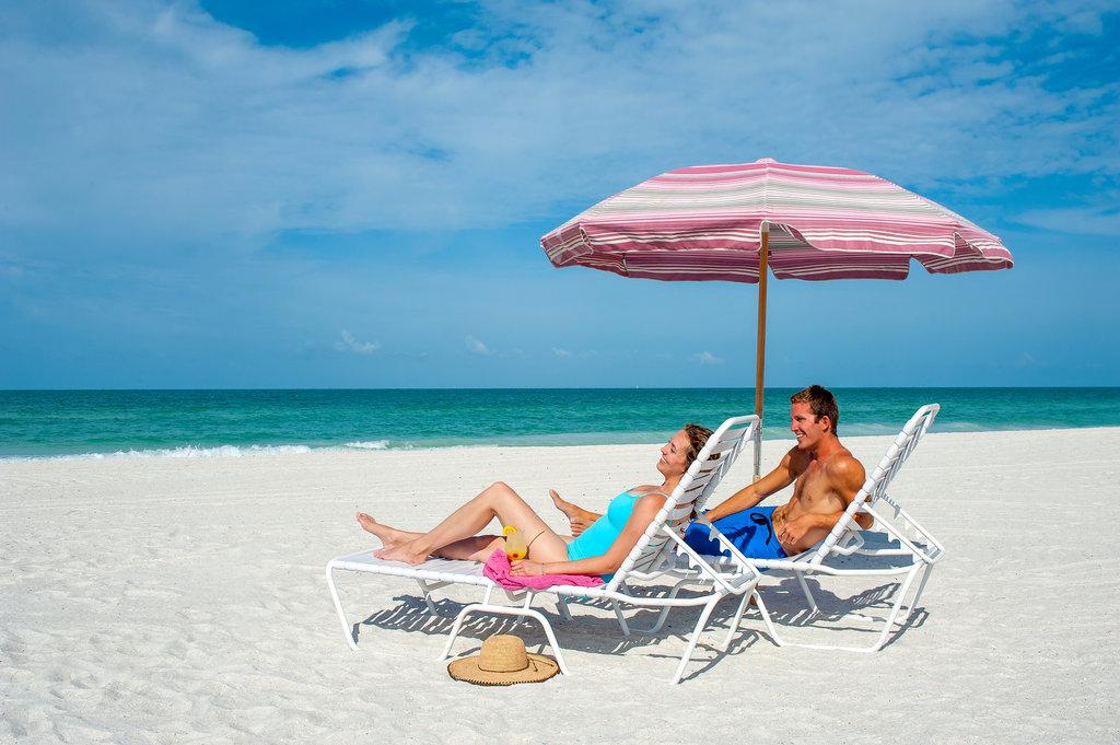 Sandcastle Resort at Lido Beach-Couple On Beach<br/>Image from Leonardo