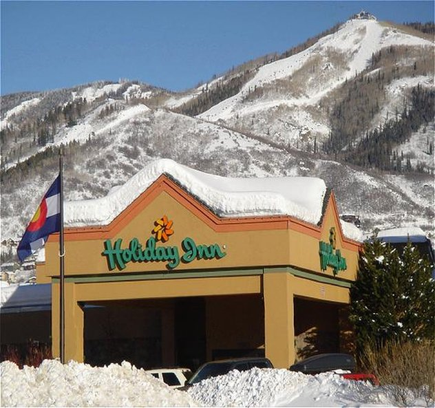 Holiday Inn Steamboat Springs-Exterior View Winter<br/>Image from Leonardo