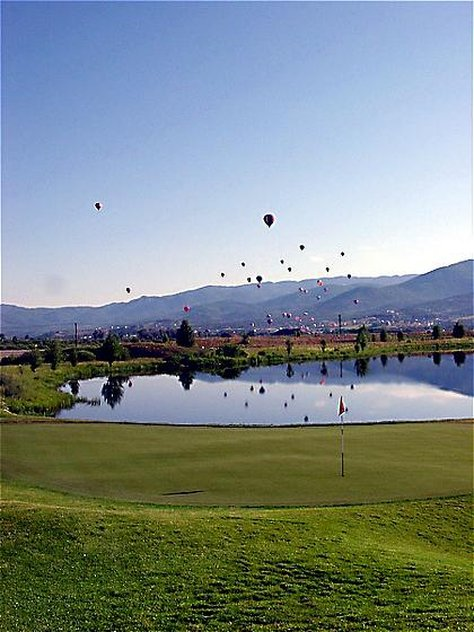 Holiday Inn Steamboat Springs-Exterior View Balloon Launch<br/>Image from Leonardo