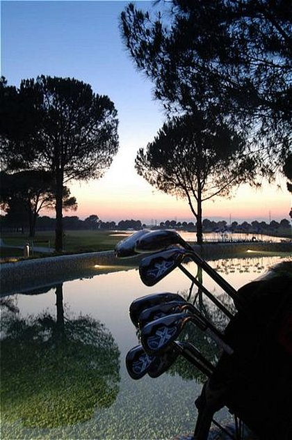 Gloria Golf Resort-Golf course by night<br/>Image from Leonardo