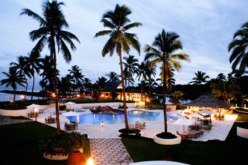 The Pearl South Pacific-The Pearl Pool Dusk<br/>Image from Leonardo