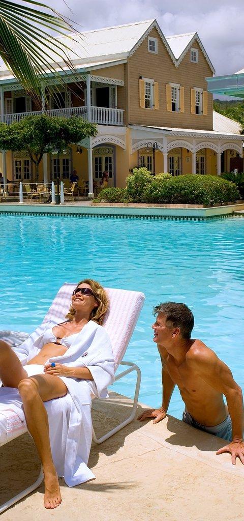 Melia Braco Village - Grand Lido Braco Couple At Main Pool <br/>Image from Leonardo