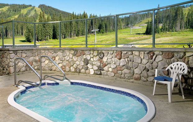 Coast Sundance Lodge-Hot Tub<br/>Image from Leonardo