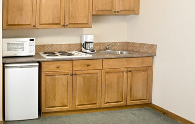 Coast Sundance Lodge-Superior room kitchen<br/>Image from Leonardo