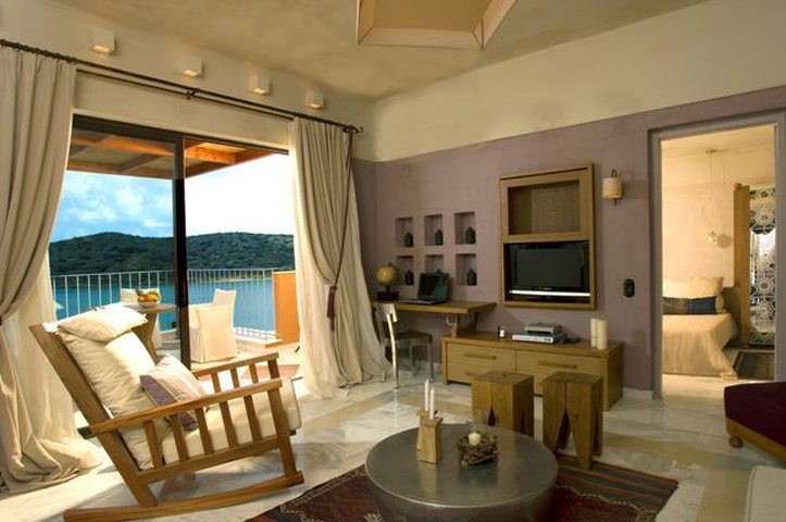 Domes of Elounda, Autograph Collection-Living Room<br/>Image from Leonardo