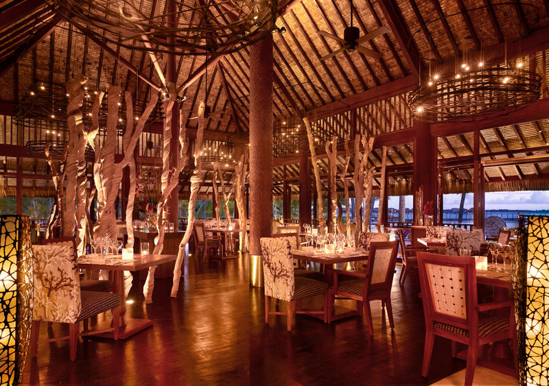 Sofitel Bora Bora Private Island-BORRestaurant<br/>Image from Leonardo