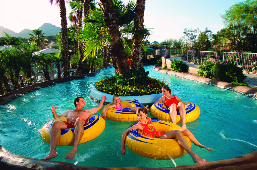 Pointe Hilton Squaw Peak Resort - The Lazy River <br/>Image from Leonardo