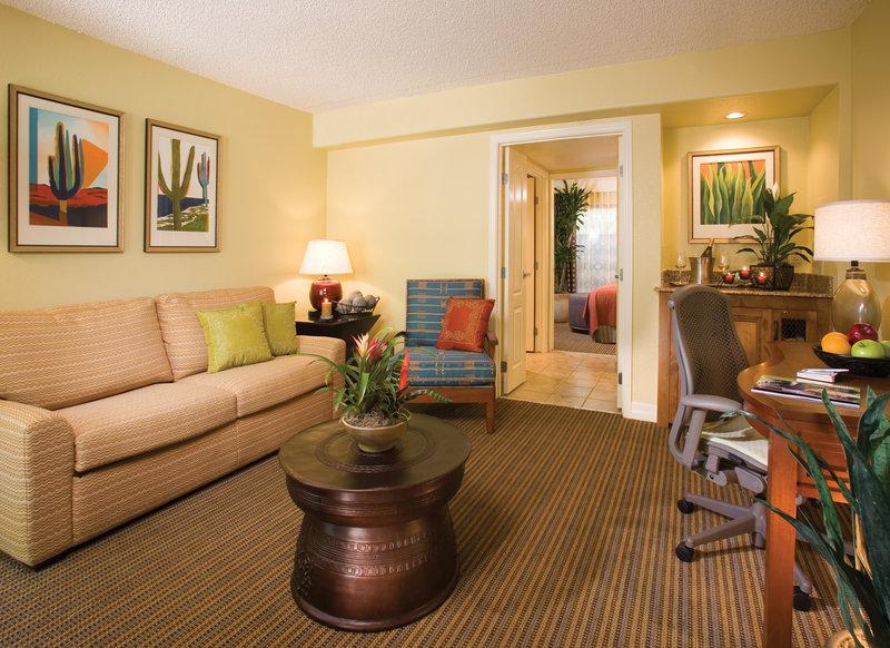 Pointe Hilton Squaw Peak Resort - Suite Living Room <br/>Image from Leonardo