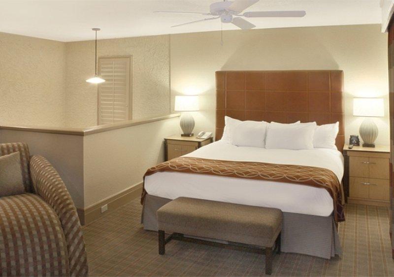 Pointe Hilton Squaw Peak Resort - One King Casita Bedroom <br/>Image from Leonardo