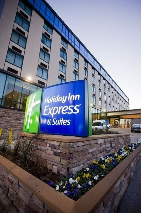 Holiday Inn Express and Suites Fort Worth Downtown-Exterior<br/>Image from Leonardo