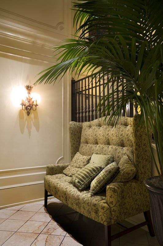 Astor Crowne Plaza French Quarter - Lobby Couch <br/>Image from Leonardo