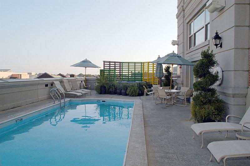Astor Crowne Plaza French Quarter - Pool <br/>Image from Leonardo