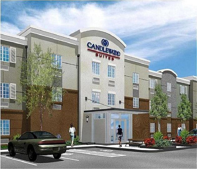 Candlewood Suites Portland Airport-Hotel Exterior<br/>Image from Leonardo