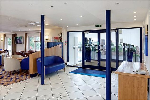 Holiday Inn Express Peterborough-Hotel Lobby<br/>Image from Leonardo