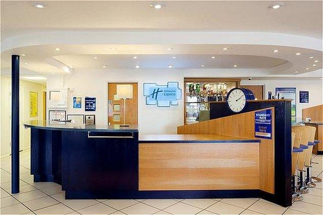 Holiday Inn Express Peterborough-Front Desk<br/>Image from Leonardo
