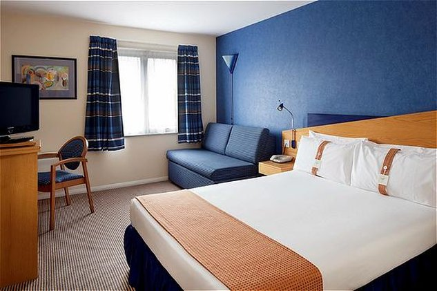 Holiday Inn Express Peterborough-Double Bed Guest Room<br/>Image from Leonardo