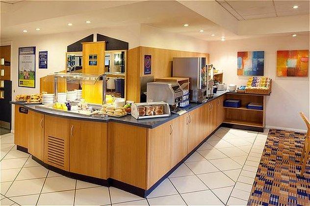 Holiday Inn Express Peterborough-Breakfast Bar<br/>Image from Leonardo