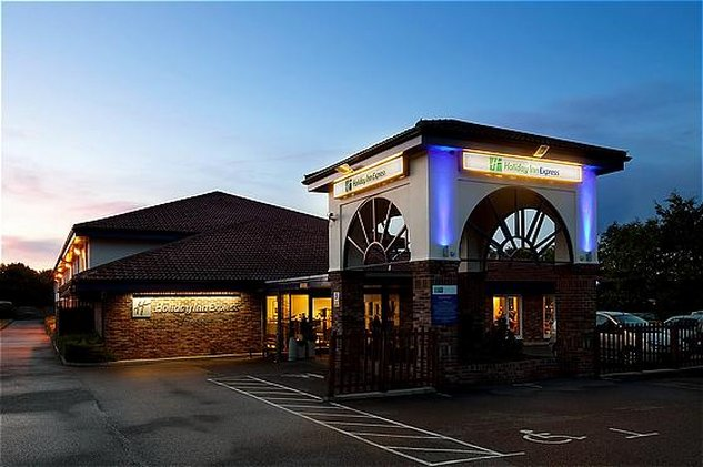 Holiday Inn Express Peterborough-Hotel Exterior<br/>Image from Leonardo