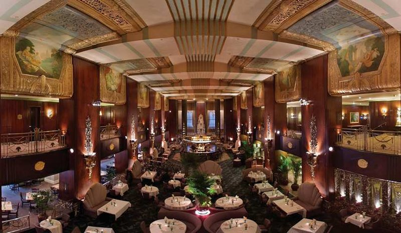 Hilton Cincinnati Netherland Plaza-Restaurants at Palm Court<br/>Image from Leonardo