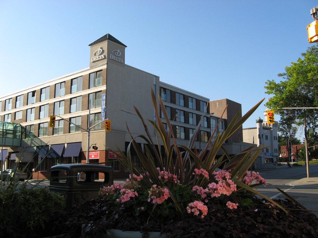 Crowne Plaza Kitchener - Waterloo-Exterior View<br/>Image from Leonardo