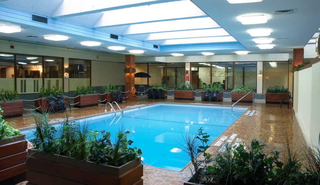 Crowne Plaza Kitchener - Waterloo-Pool View<br/>Image from Leonardo