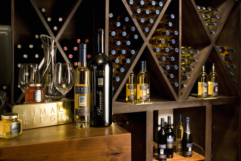 Sun Peaks Grand Hotel-Lobby wine boutique 2<br/>Image from Leonardo