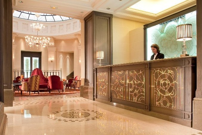 Chateau Frontenac-Lobby View<br/>Image from Leonardo