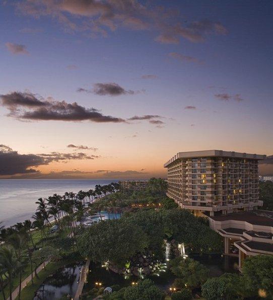 Hyatt Regency Maui Resort - Hyatt Regency Maui Resort & Spa on Kaanapali Beach <br/>Image from Leonardo