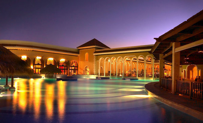 Paradisus Palma Real - Pool Night <br/>Image from Leonardo