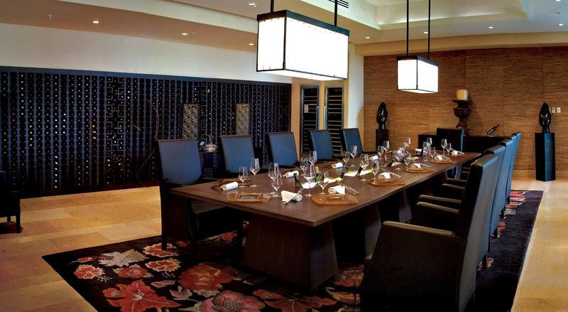 Fairmont Mayakoba - La Cava-Private Dining Wine Cellar <br/>Image from Leonardo