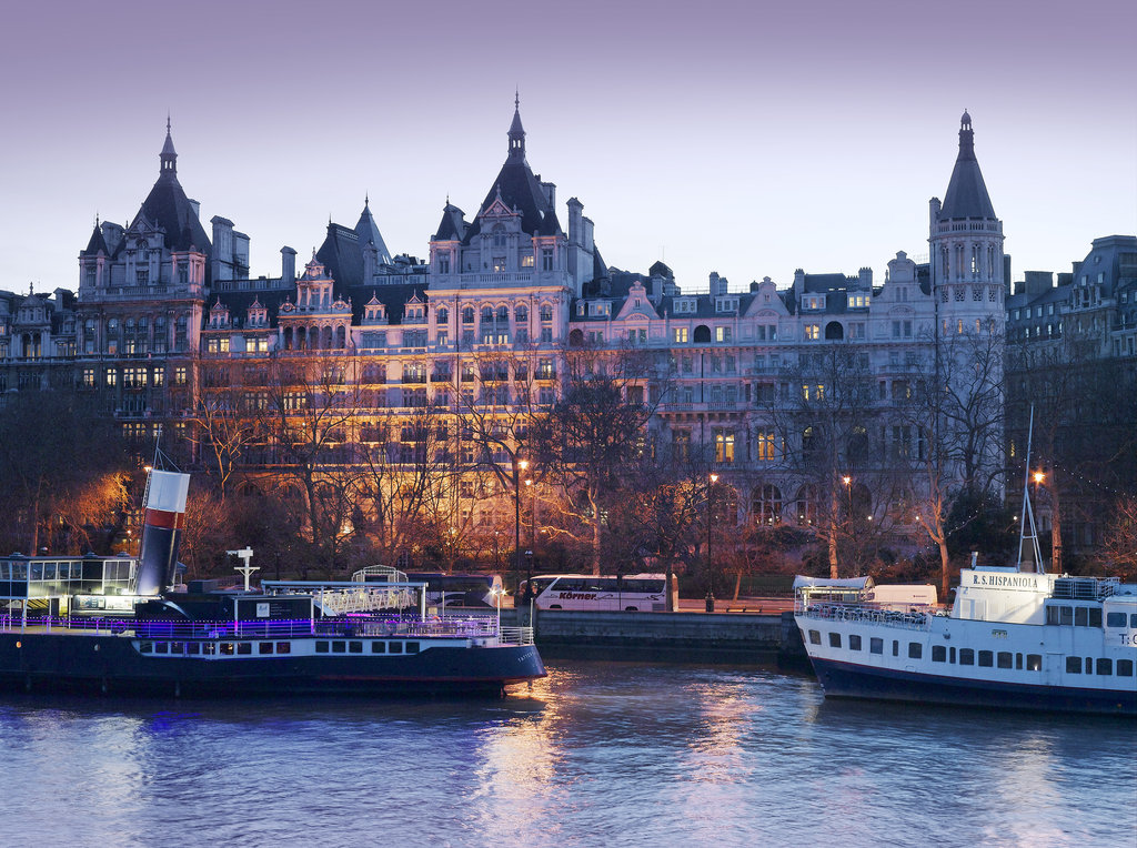 The Royal Horseguards - Exterior view at Dusk <br/>Image from Leonardo