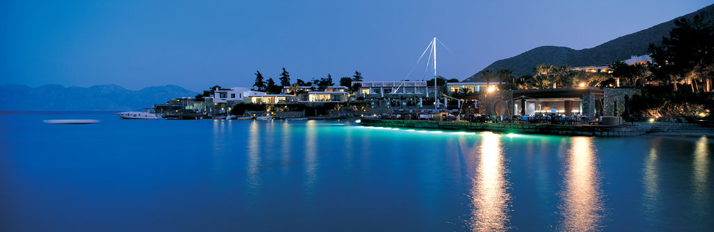 Elounda Bay Palace-SailIn Bar at night<br/>Image from Leonardo