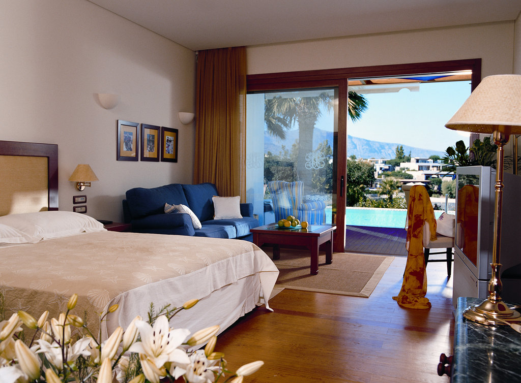 Elounda Bay Palace-Junior Suite Front seaview Sharing Pool<br/>Image from Leonardo