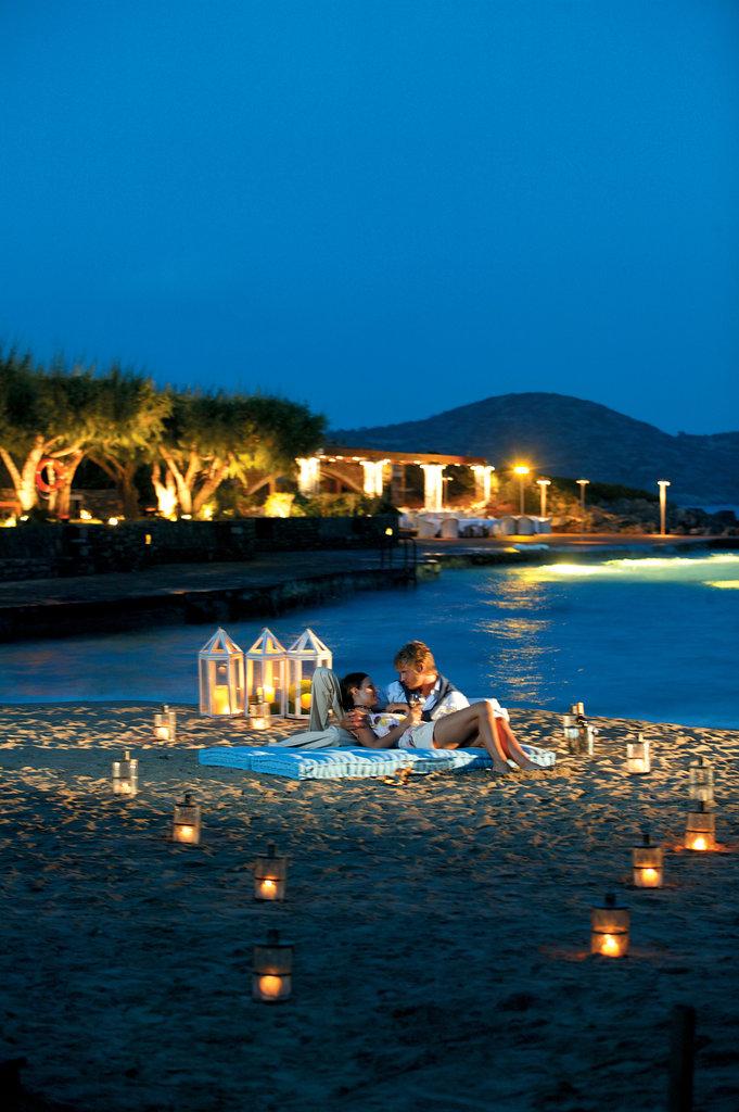 Elounda Bay Palace-Romantic Dinner on the Beach<br/>Image from Leonardo