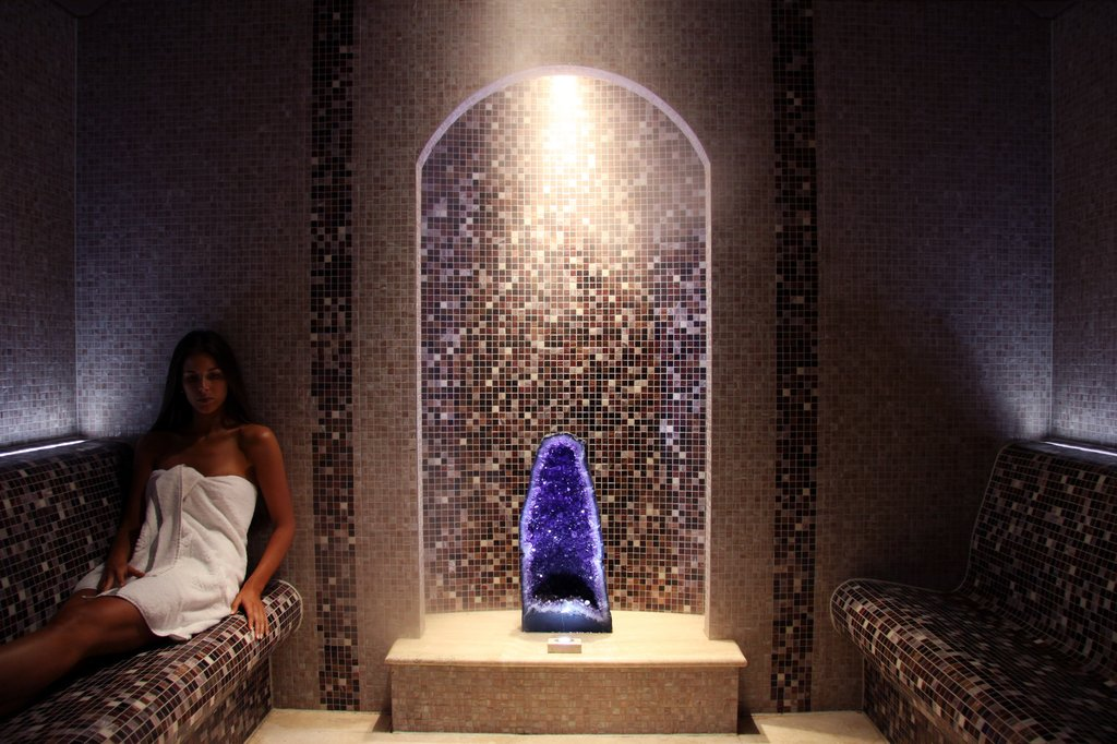 Coral Reef Club-Crystal Steam Room<br/>Image from Leonardo