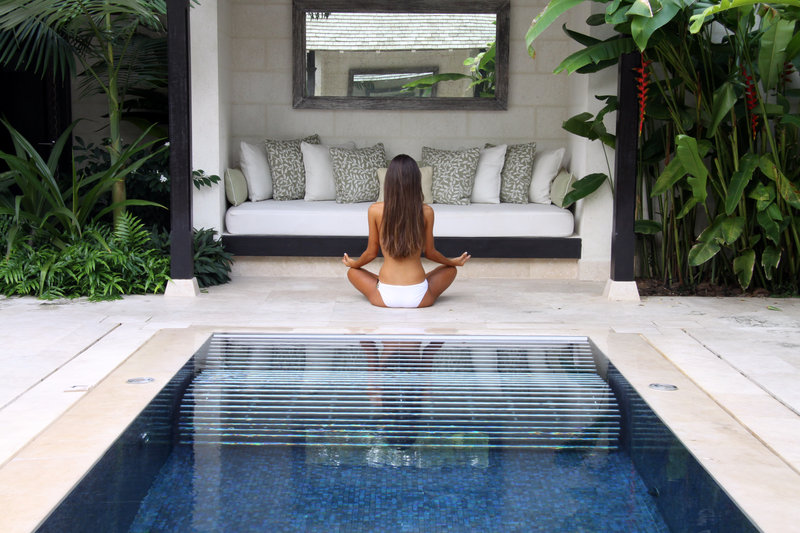 Coral Reef Club-Yoga by the Hydro Pool<br/>Image from Leonardo