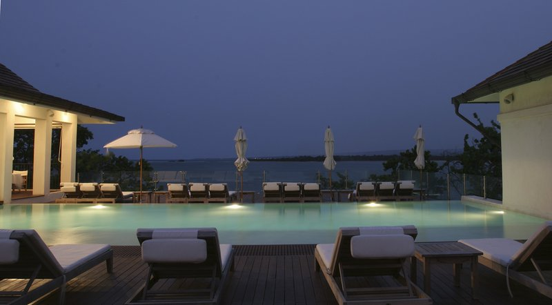 Casa Colonial Beach & Spa-Infinity pool at night<br/>Image from Leonardo