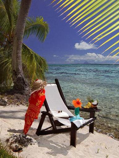 Vahine Island-Beach Bungalow<br/>Image from Leonardo