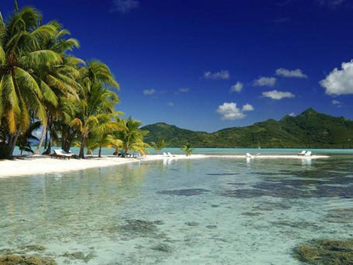 Vahine Island-The Beach<br/>Image from Leonardo