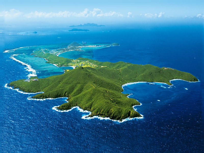 Young  Island  Resort-Canouan Island Aerial<br/>Image from Leonardo