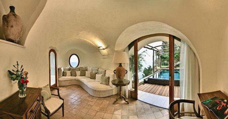 Santa Caterina Hotel-Honeymoon Suite Chalet interior<br/>Image from Leonardo