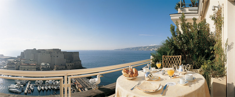 Grand Hotel Vesuvio Naples-Caracciolo Top Class Suite terrace<br/>Image from Leonardo