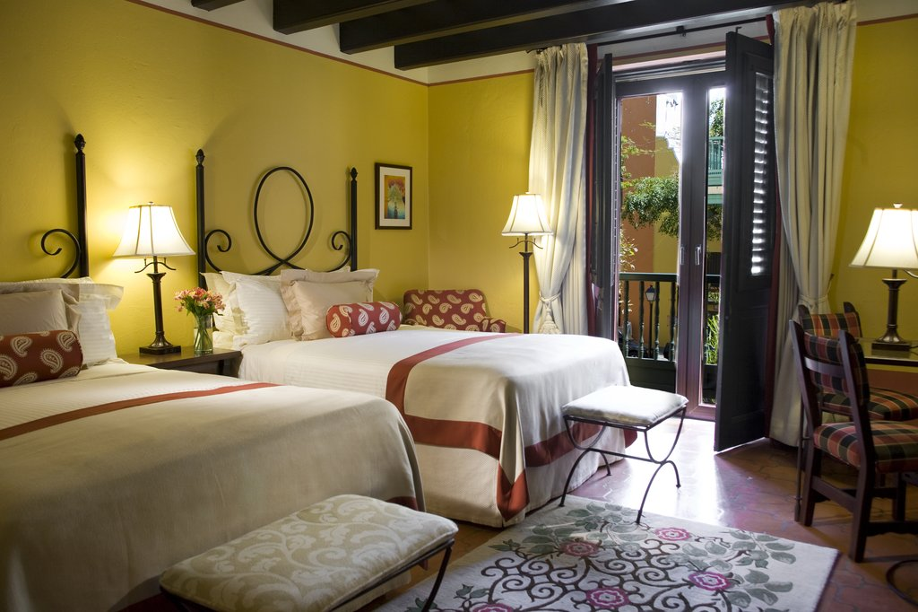 Hotel El Convento - Double Vista Guest Room <br/>Image from Leonardo