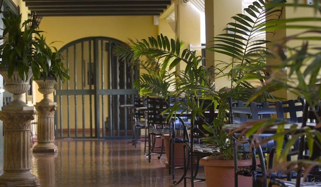 Hotel El Convento - Hotel Corridor <br/>Image from Leonardo