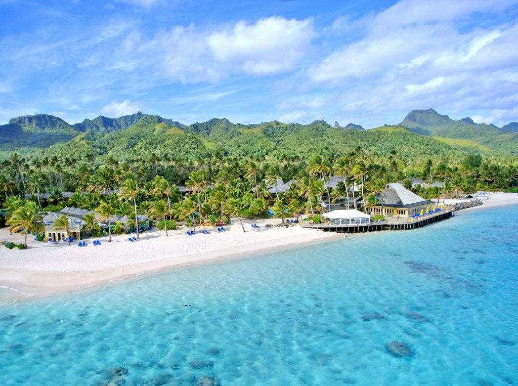 Manuia Beach Resort-Aerial View of Resort<br/>Image from Leonardo