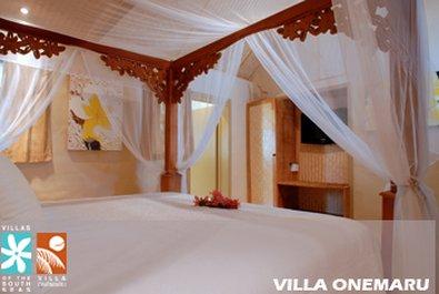 Manuia Beach Resort-Villa Onemaru Bedroom<br/>Image from Leonardo